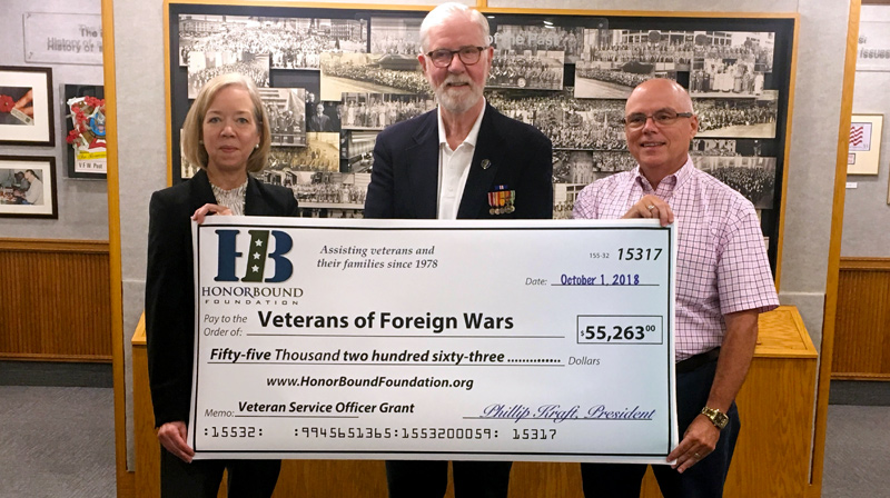 VFW, HonorBound Foundation Team Up to Help More Veterans